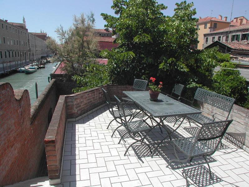 Terrace of the apartment