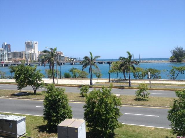 Vorderen Balkon - Blick auf die Lagune