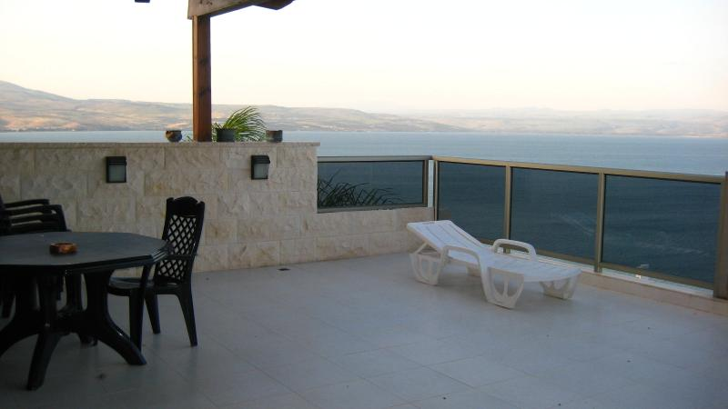 FULL VIEW OF THE SEA OF GALILEE