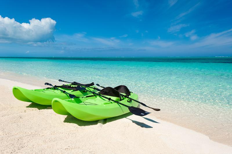 Kayaks para huéspedes Placer