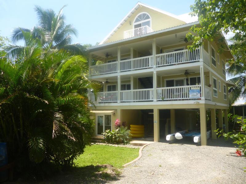 Bocas Beach Villas Main Condo Building With Condos 1 Through 5