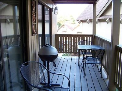 Deck with electric grill
