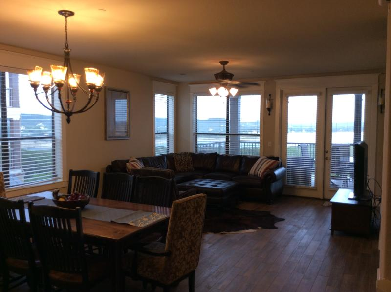 The family room that is the main living area.