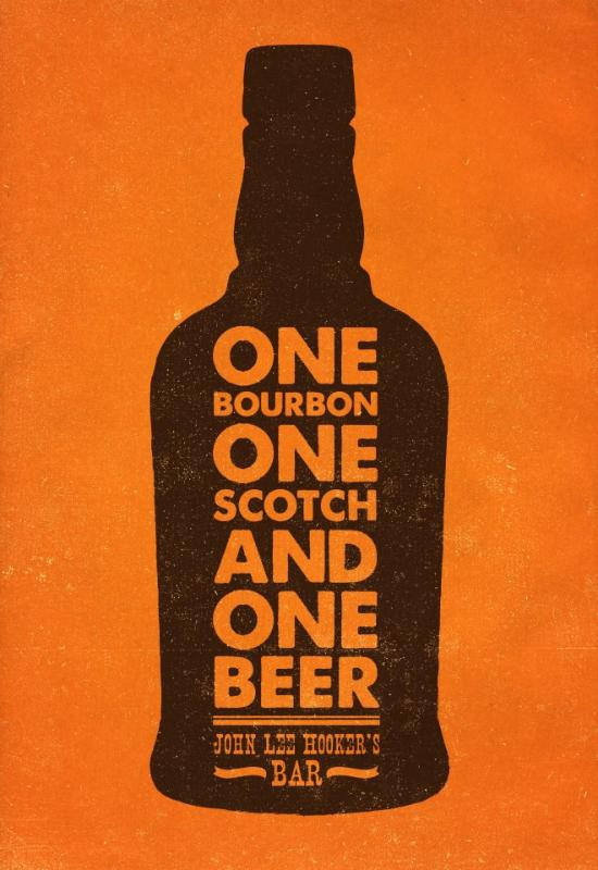 One Bourbon, one Scotch, and One Beer