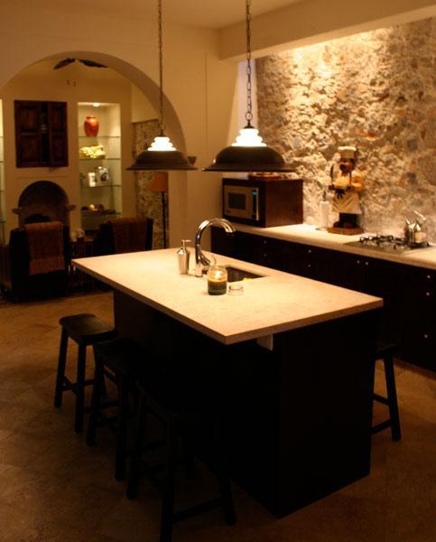 Gourmet cucina isola-primo piano