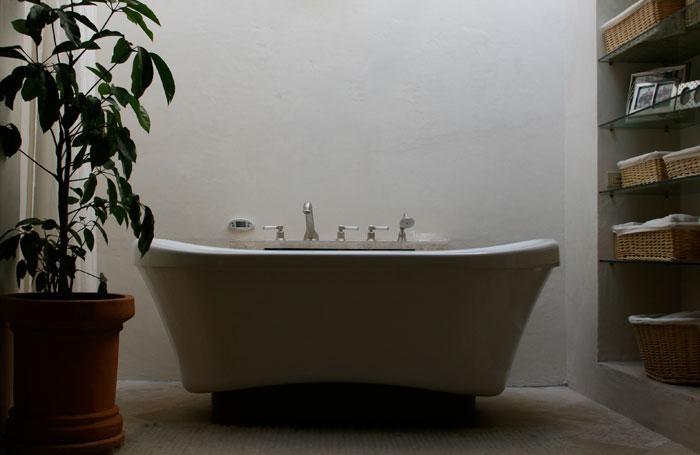 Bagno Bain Ultra in bagno comunicante camera matrimoniale