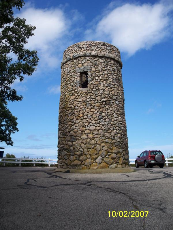 Scargo Tower - Great Views of Bay on a Clear Day
