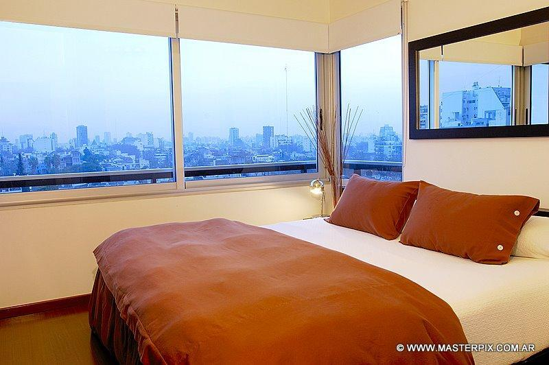 Bedroom with King Size Four Seasons Mattress - Amazing unobstructed views of the city!!
