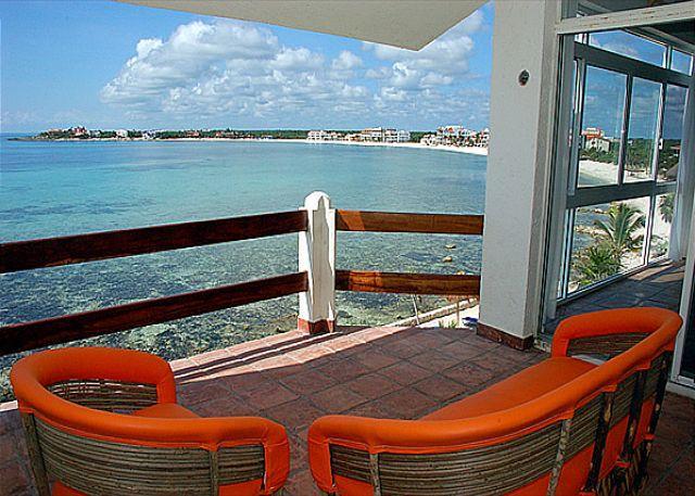 Ocean side terrace