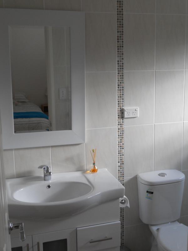 Ensuite bathroom  (huge shower to right)