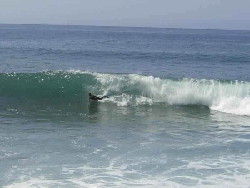 Bodyboarding - Paul do Mar beach was one of the 2001 World Surfing Championship venues