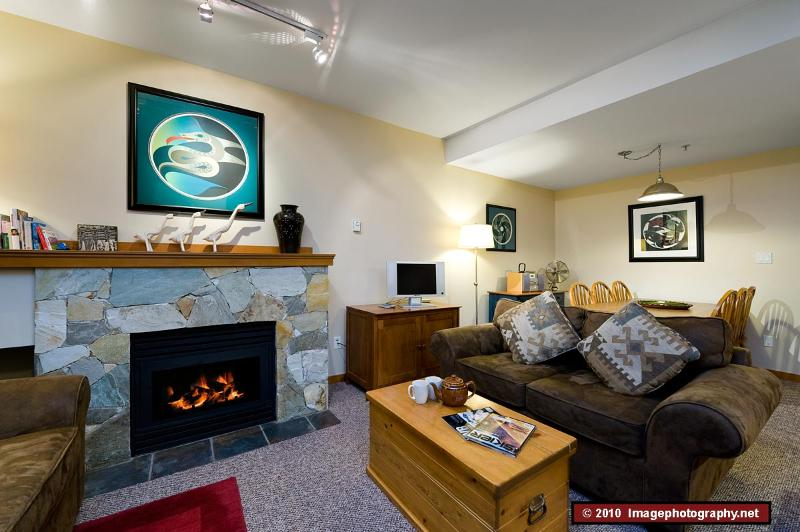 2 bed, well equipped, tastefully furnished, comfortable apartment, vacation rental in Whistler