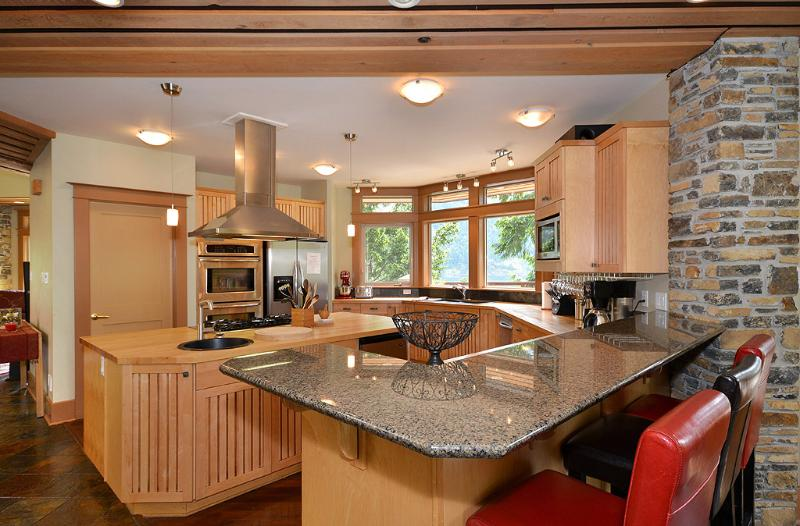 Luxury kitchen for the master chef