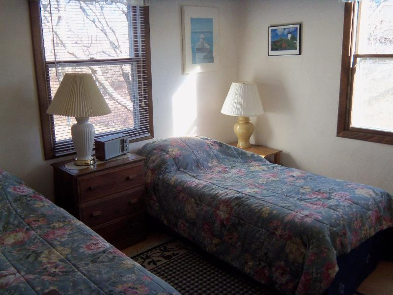 First Twin Bedroom