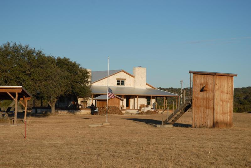 Ranch house from Skeet Range