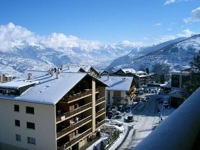 Near the ski lift