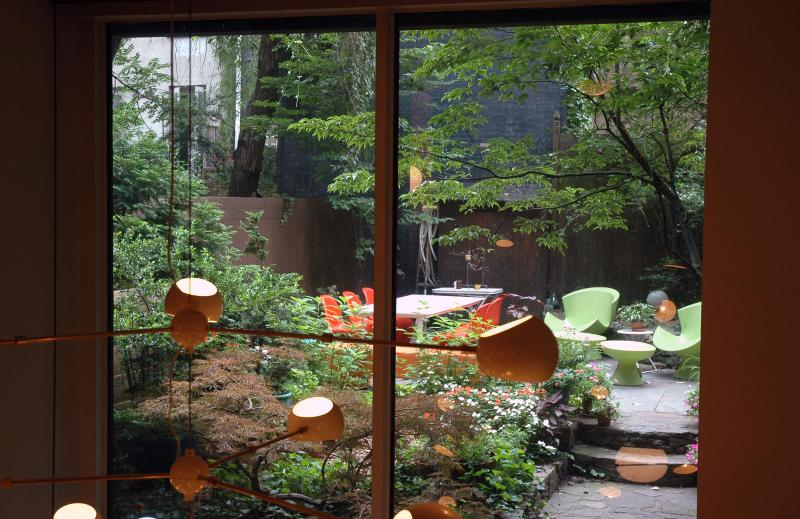 View from Foyer into Private Garden