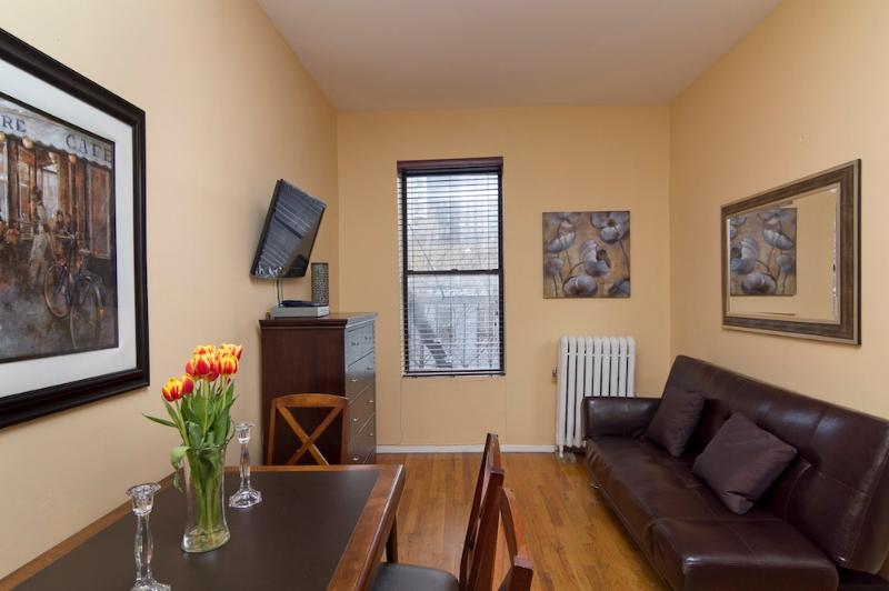 Living Room with Futon sofa
