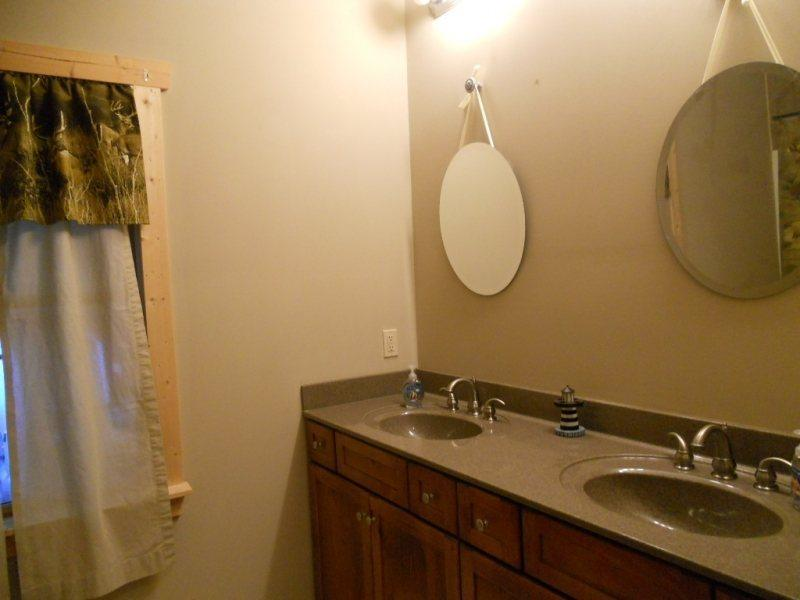 Double Sinks in the Master Bathroom