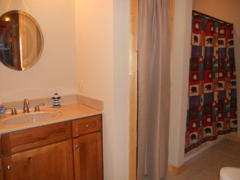 Full Guest Bathroom on the Main Floor