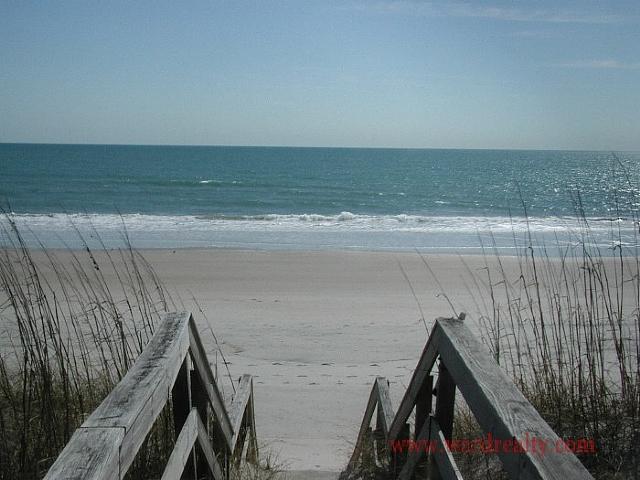 Boardwalk to Beach & Ocean View