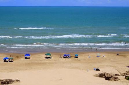 playa del océano Vista