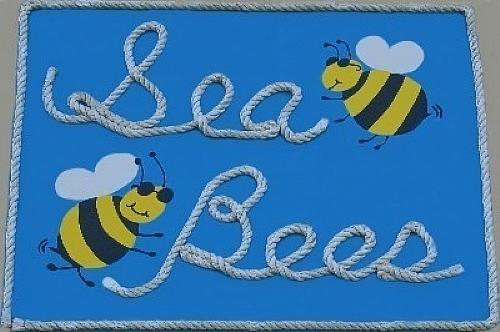 Sea Bees Sign