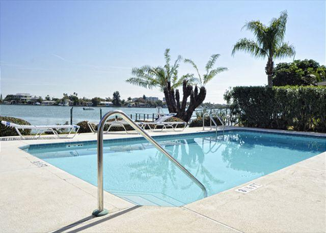 Waterfront vacation rental at Amadeus on Treasure Island Florida