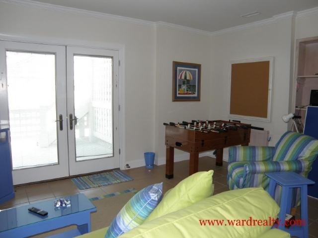 Downstairs Living Room w/ Fooseball Table