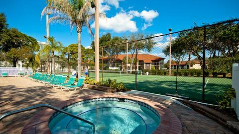 Spa and Tennis Courts