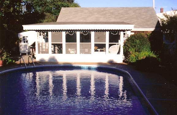 Common area pool house