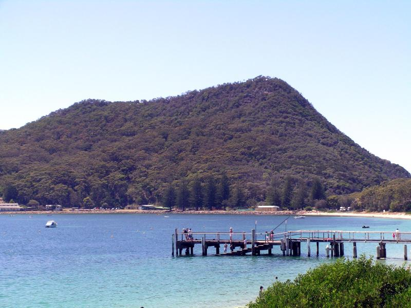 Only minutes walk to the foot of Tomaree mountain. Spectacular views from the top! Not to be missed!