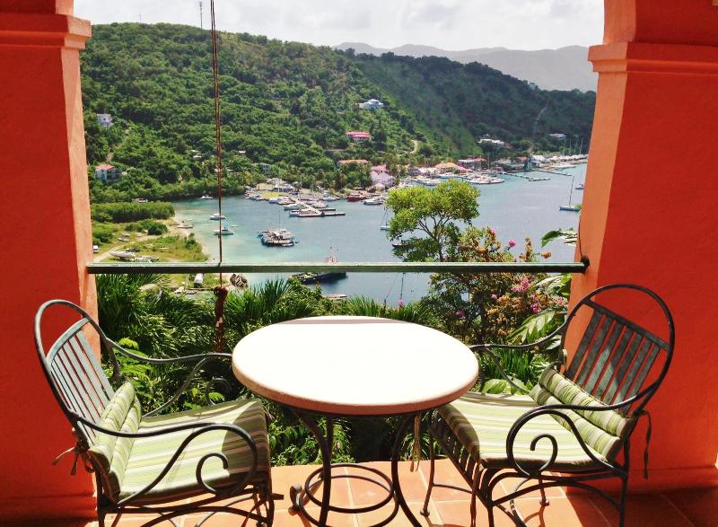 Studio Apartment balcony and view