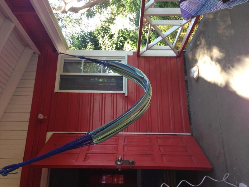 as the hammock swings
