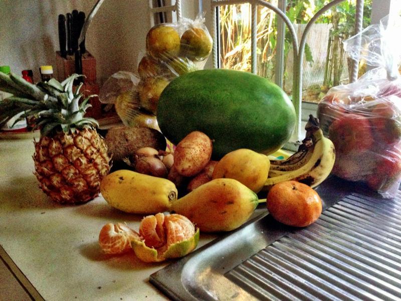 fresh fruit- let us do the shopping