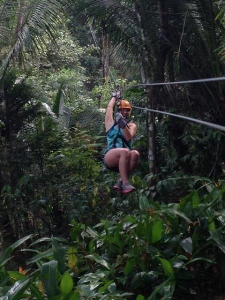 Coyaba Guests at Dennery Rainforest Zipine Adventure