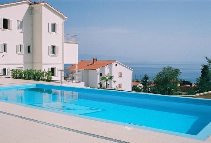 Modern holiday villa for rent, Opatija