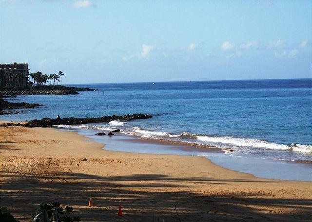 Kamaole Beach # 3 à travers la rue