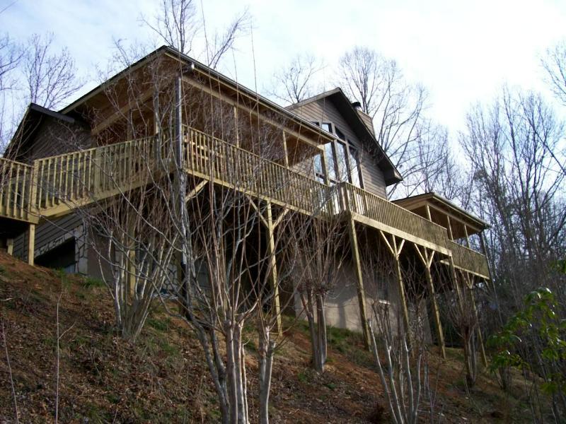 Vista exterior de nuestra casa de montaña