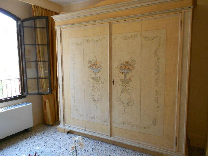 The kitchenette in the closet
