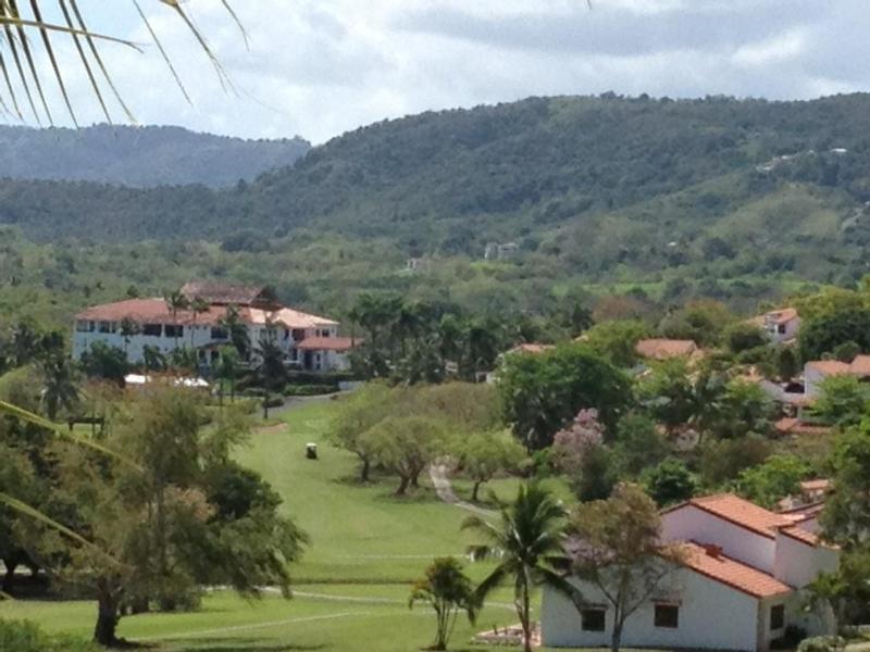 Uitzicht vanaf Villa/Golf Clubhouse