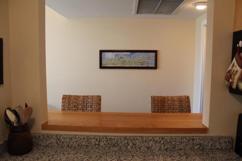 Keukeneiland zitplaatsen