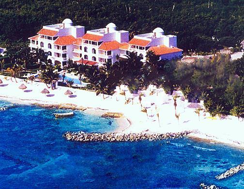 Villas Caribe Reef en la playa