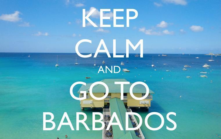 Keep Calm and Go To Barbados!