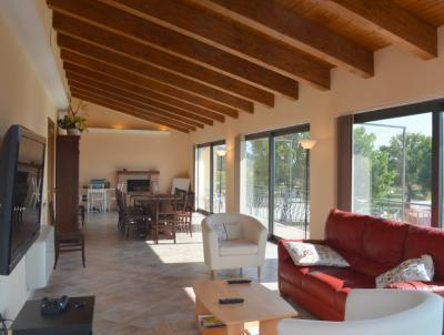 Large Living Room / Dining Room Panoramic Views of the Mountains, Countryside and Medieval Town Center
