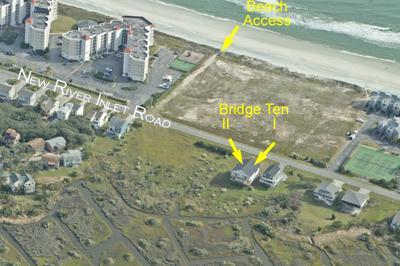 Vista aérea del puente diez Duplex