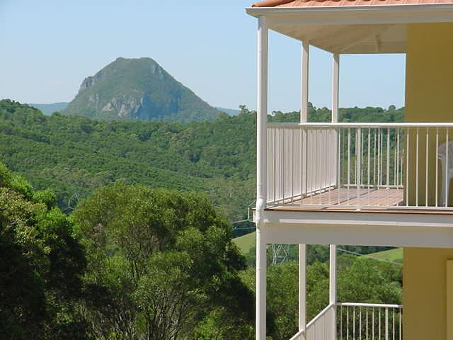 Balcony view of Mt Cooroora
