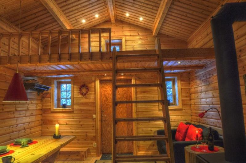 Cottage on Wild River in Lapland/Sweden, location de vacances à Sorsele