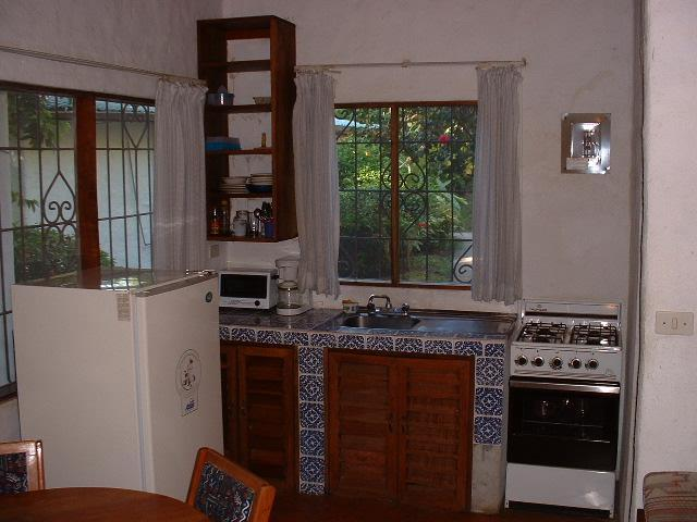 Kitchen of the cottage