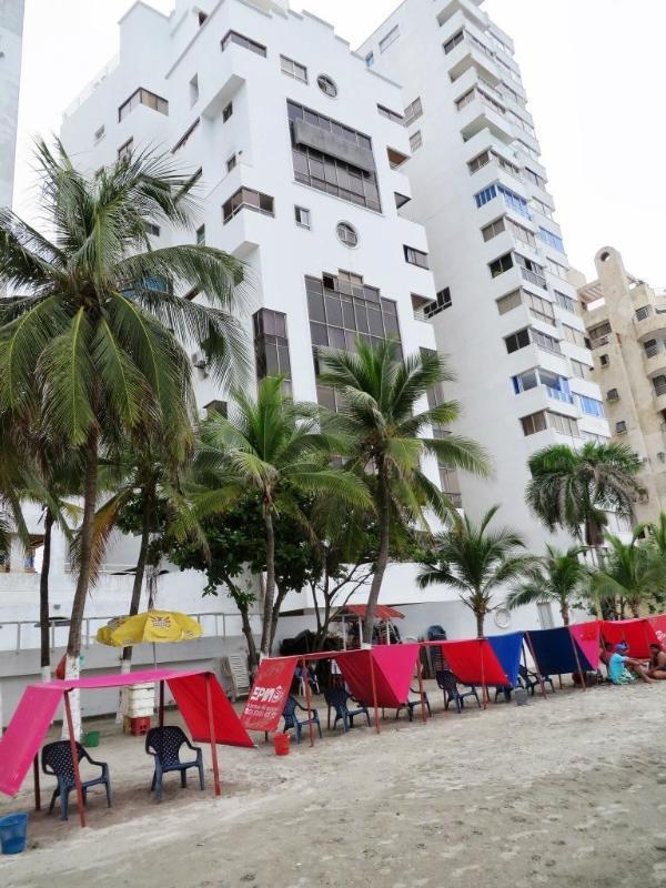 Bâtiment de la plage